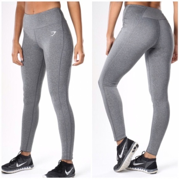 332e4315b3da1 Gymshark Pants | Grey Dry Sleek Sculpture Full Leggings | Poshmark